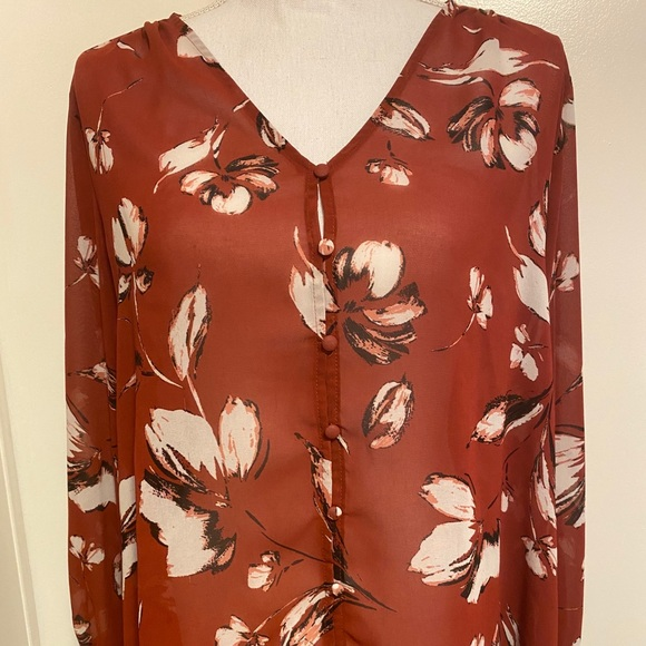 Maurices button up shirt SZ XL Worn once